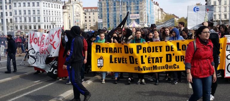 67 interpellations depuis le début du mouvement contre la loi travail à Lyon