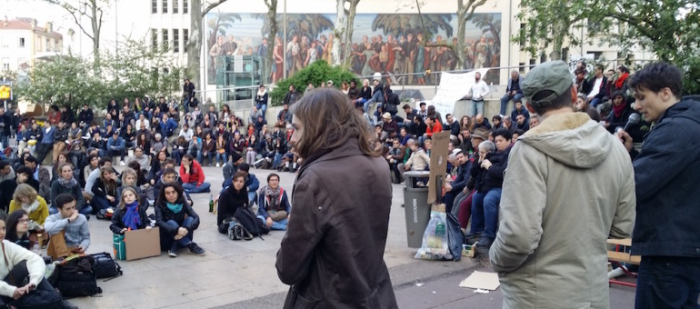 « Nuit Debout Lyon » confronté à la question des actions violentes