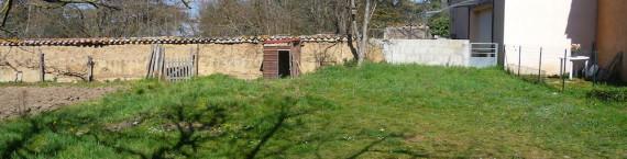 Le terrain de Lentilly de 315 m2 vendu à la fille de l'adjointe. ©DR