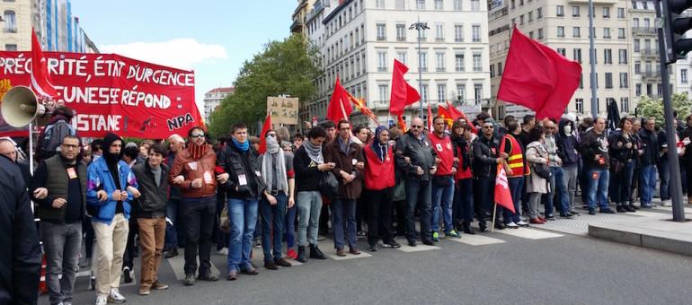 A Lyon, une 7ème manif contre la loi travail : grosses tensions et mobilisation en retrait