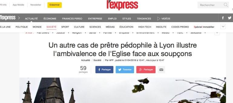 Un prêtre pédophile condamné à Lyon mais ce n'est pas Barbarin qui a alerté la justice