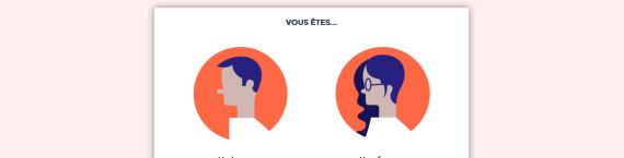 """Page d'accueil de l'appli """"We are région"""" de Rue89Lyon."""