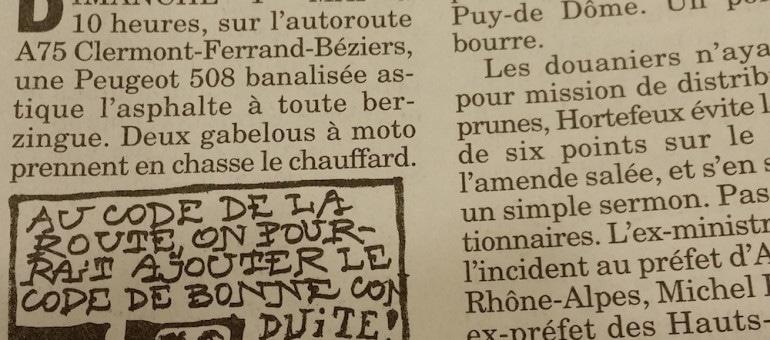 Contrôlé à 170 km/h sur une route d'Auvergne, Brice Hortefeux se plaint
