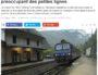 Plusieurs lignes de TER menacées, selon un rapport de la SNCF