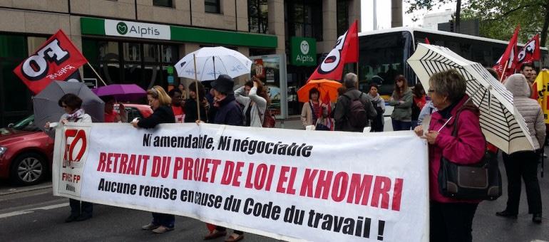 A Lyon, 9ème manif contre la loi travail : Une mobilisation en baisse qui finit dans la nasse de Bellecour