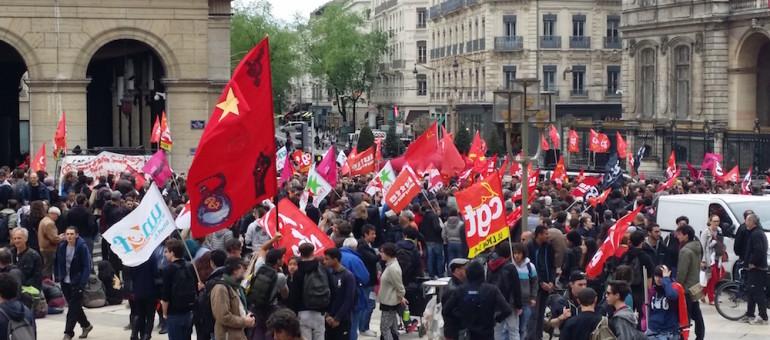 A Lyon, un «rassemblement tremplin » avant une semaine décisive contre la loi travail