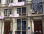 L'ancien collège Truffaut a été investi dans l'après-midi du 17 mai, après une manifestation contre la loi travail. ©LB/Rue89Lyon