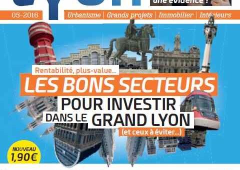 Nouveau Lyon, un magazine d'actu sur l'immobilier et l'urbanisme