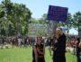 Comme pour ce 5 juillet, la manif contre la loi travail était déjà a arrivée place Maréchal Lyautey le 23 juin dernier. ©SS/Rue89Lyon