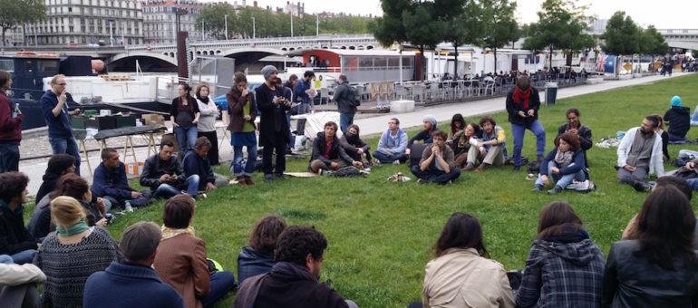 « Nuit Debout Lyon » continue et devient un mouvement itinérant