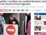 Pédophilie : Le cardinal Barbarin auditionné pendant 10 heures par la police