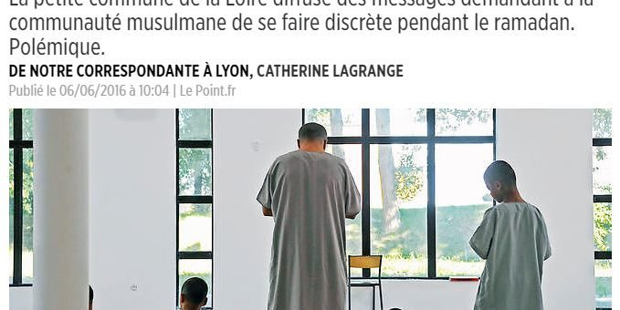 A Lorette, le maire affiche des messages hostiles aux musulmans pour le ramadan