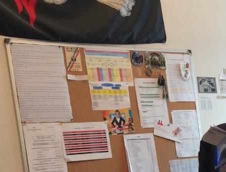 Photo d'un des bureaux du commissariat de Givors. Capture d'écran