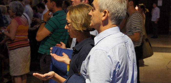 Après l'attaque dans l'église de Saint-Etienne-du-Rouvray, une messe et un rassemblement à Lyon