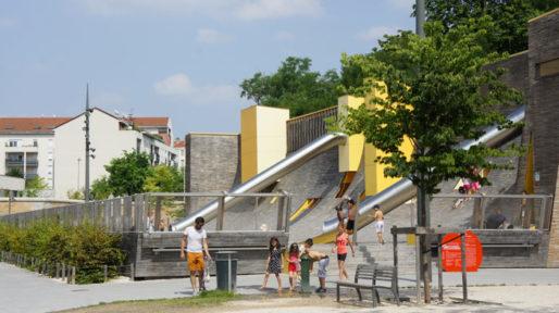 Parc du Sergent Blandan à Lyon. crédit Romain Chevalier/Rue89Lyon