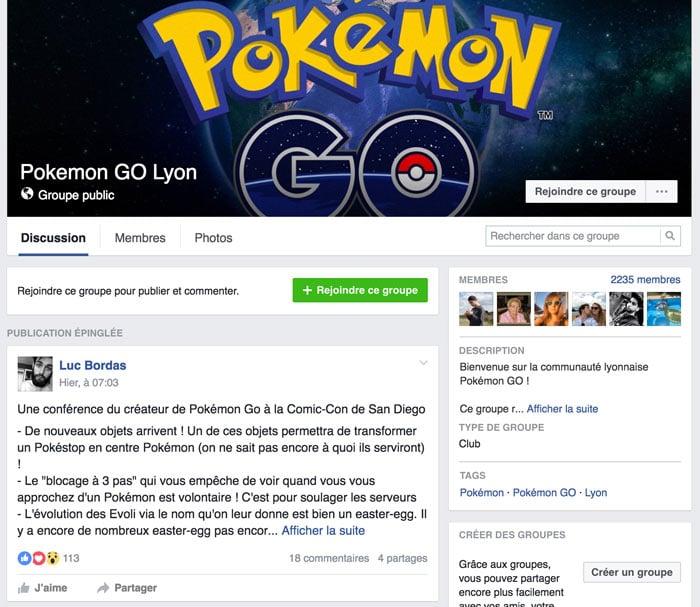 Le phénomène Pokémon Go envahi Lyon