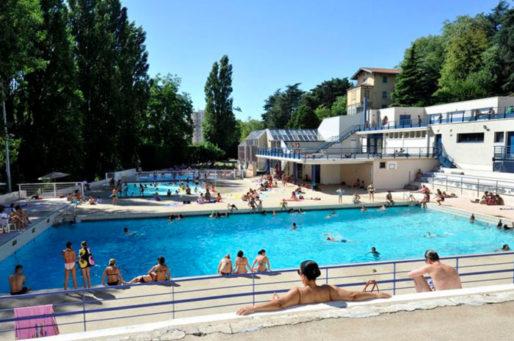 La piscine d'Oullins. Capture d'écran.