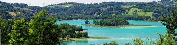 Le lac d'aiguebelette. CC