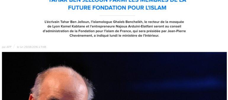 Kamel Kabtane au conseil d'administration de la Fondation pour l'islam