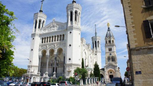 La Basilique Notre-Dame de Fourvière à Lyon. © Romain Chevalier/Rue89Lyon