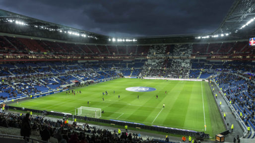 Le Parc OL en avril 2016. Photo CC by Net Circlion via Flickr
