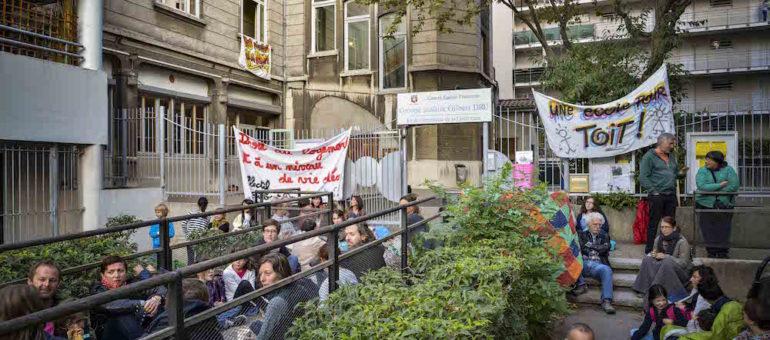 Enfants SDF : l'école Gilbert Dru de la Guillotière déjà dans la rue