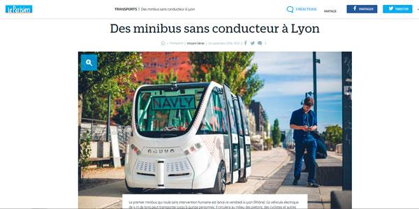 Lyonnais, prêts à tester un minibus sans chauffeur ?