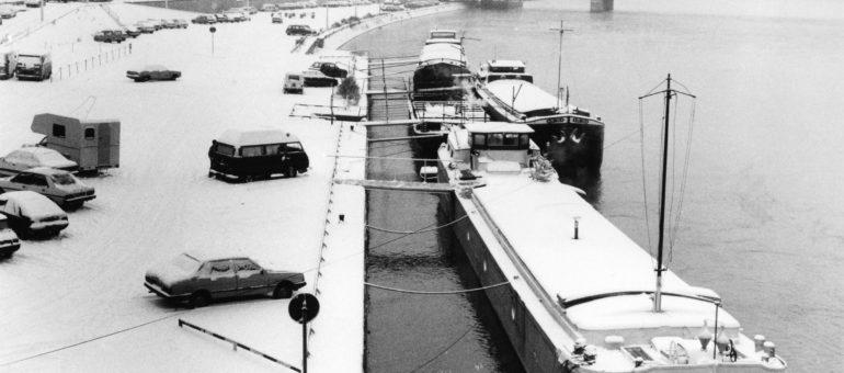 Lyon sous la neige ou un air de fin du monde