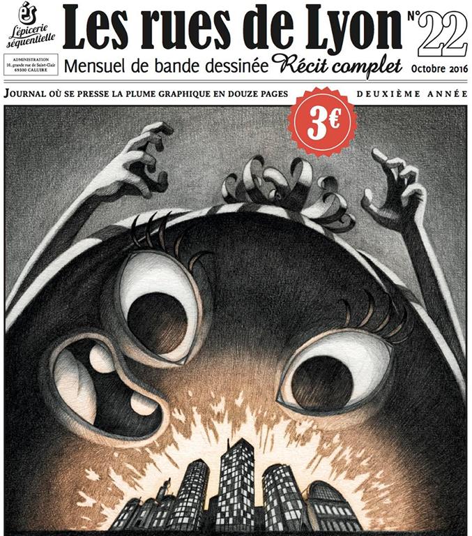 Le dernier numéro de la revue Les Rues de Lyon.