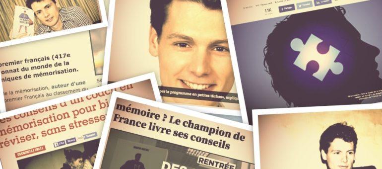 Qui est Sébastien Martinez, coqueluche des médias et expert de la mémorisation?