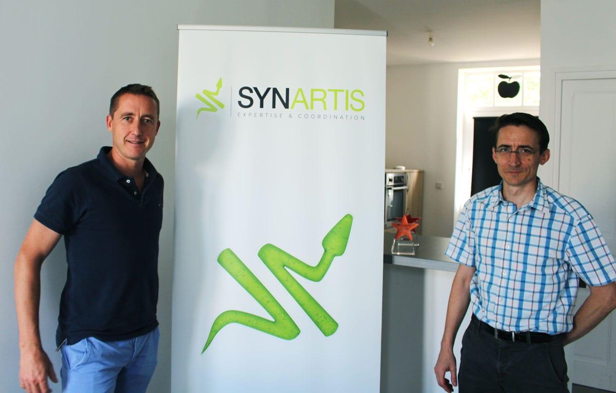 L'entreprise Synartis a été crée en juin 2015. © Amélie James/Rue89Lyon