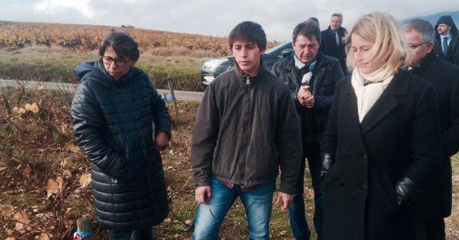 Barbara Pompili en visite dans le Beaujolais : alors c'est bon, le vin naturel ?