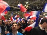 Au meeting de François Fillon, le 22 novembre 2016 à Lyon. © DD/Rue89Lyon