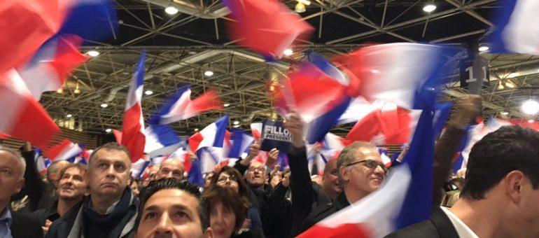 Laurent Wauquiez en embuscade au meeting de François Fillon, à Lyon