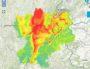 Prévision de pollution pour le samedi 17 décembre en Rhône-Alpes. Capture d'écran ATMO Auvergne-Rhône-Alpes