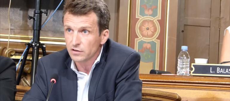 Stéphane Guilland, nouveau chef de la droite au conseil municipal de Lyon