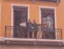 La fresque des Lyonnais, un dessin représentant Auguste et Louis Lumière datant de 1995. ©CreativeCommons Auteur : la Cité de la Création