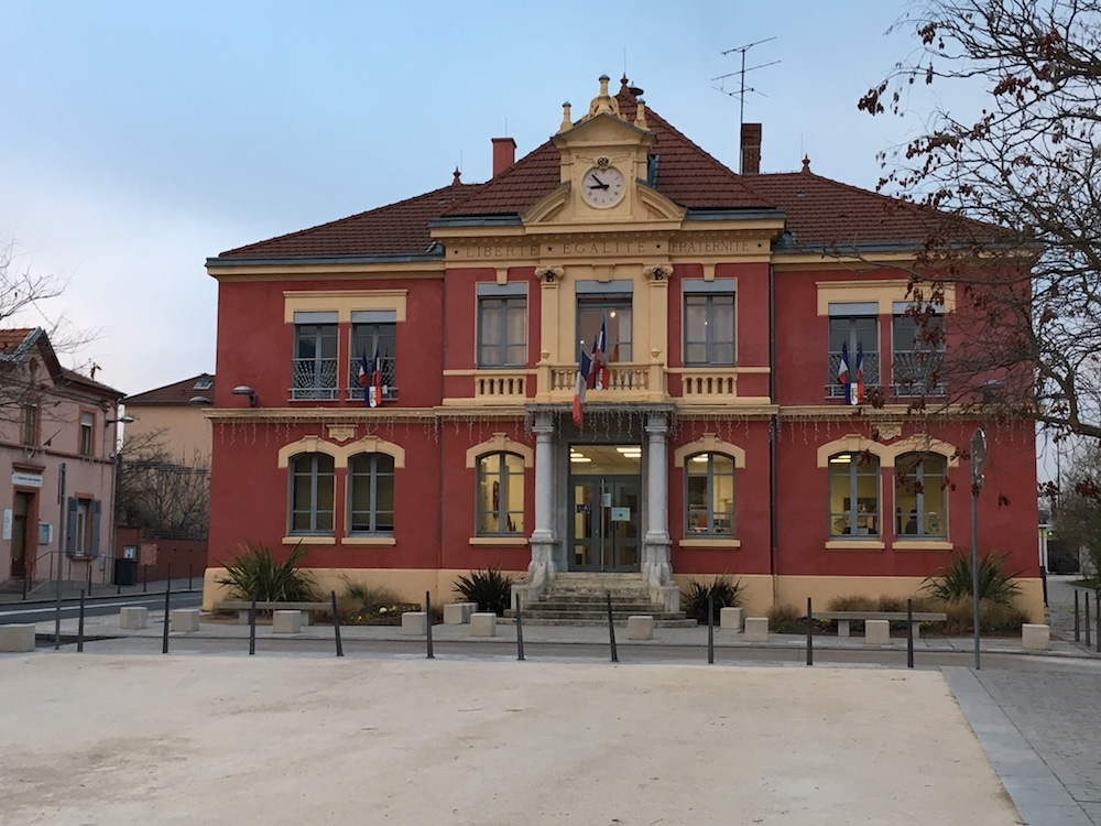 La mairie de Pierre-Bénite. ©DD/Rue89Lyon