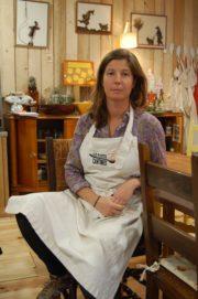 Diane Dupré La Tour, co-fondatrice des Petites Cantines. Photo BE/Rue89Lyon