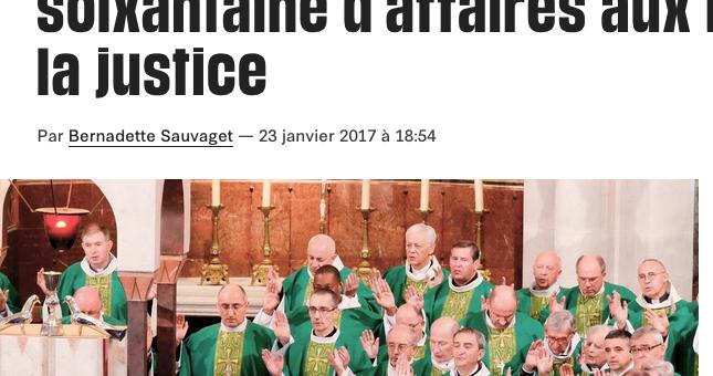 Pédophilie dans l'Église : la justice se penche sur une soixantaine d'affaires
