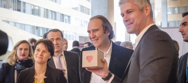 Avec Xavier Niel, Laurent Wauquiez se paye une caution numérique