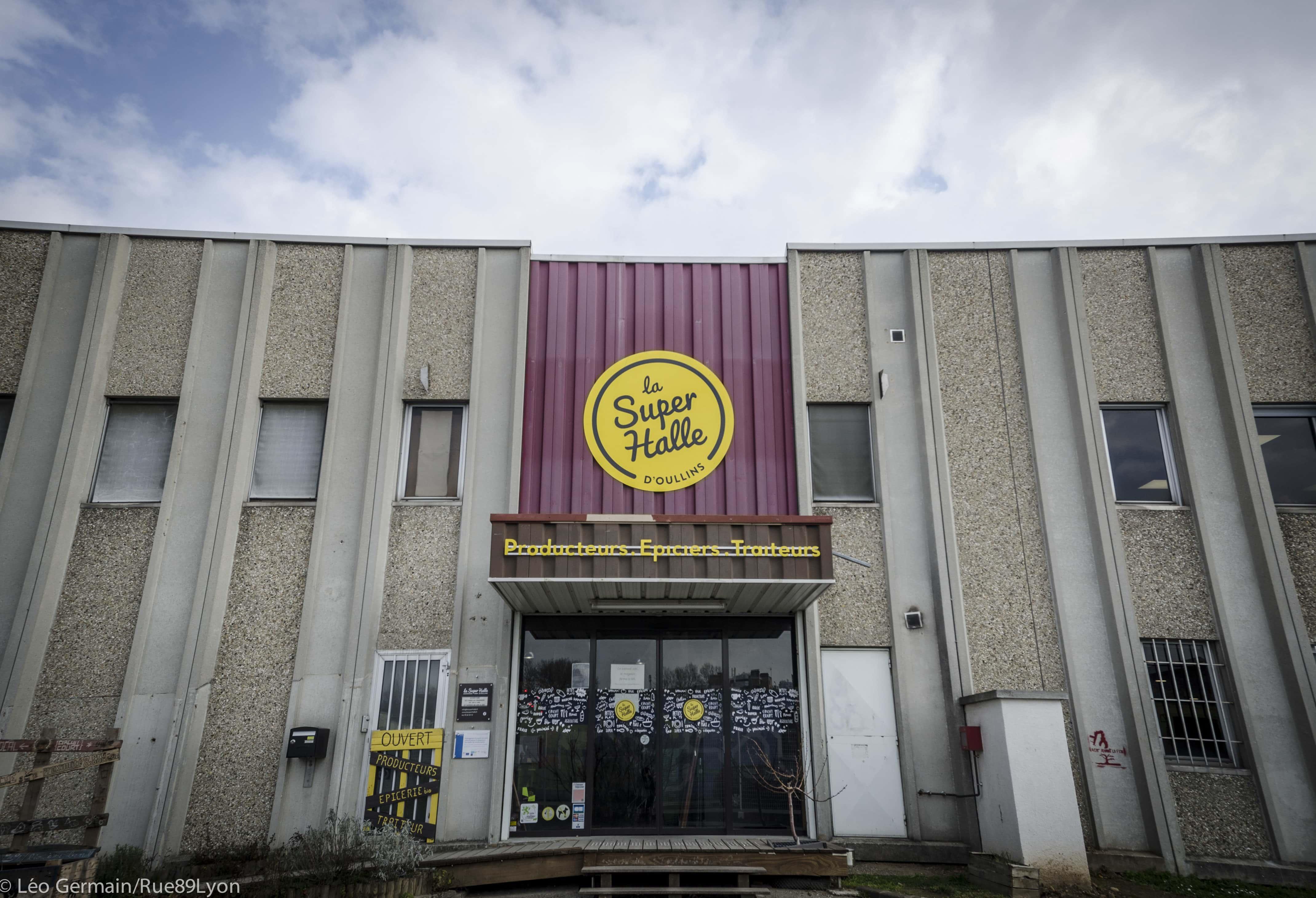 La Super Halle à Oullins en février 2017. ©Léo Germain/Rue89Lyon