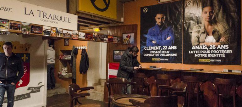 Génération identitaire toujours dans ses locaux dans le Vieux Lyon