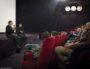 """Lucas Belvaux et Laurent Burlet à Lyon le 25 Janvier 2017 lors de l'avant première du film """"Chez nous"""" ©Léo Germain/Rue89Lyon"""