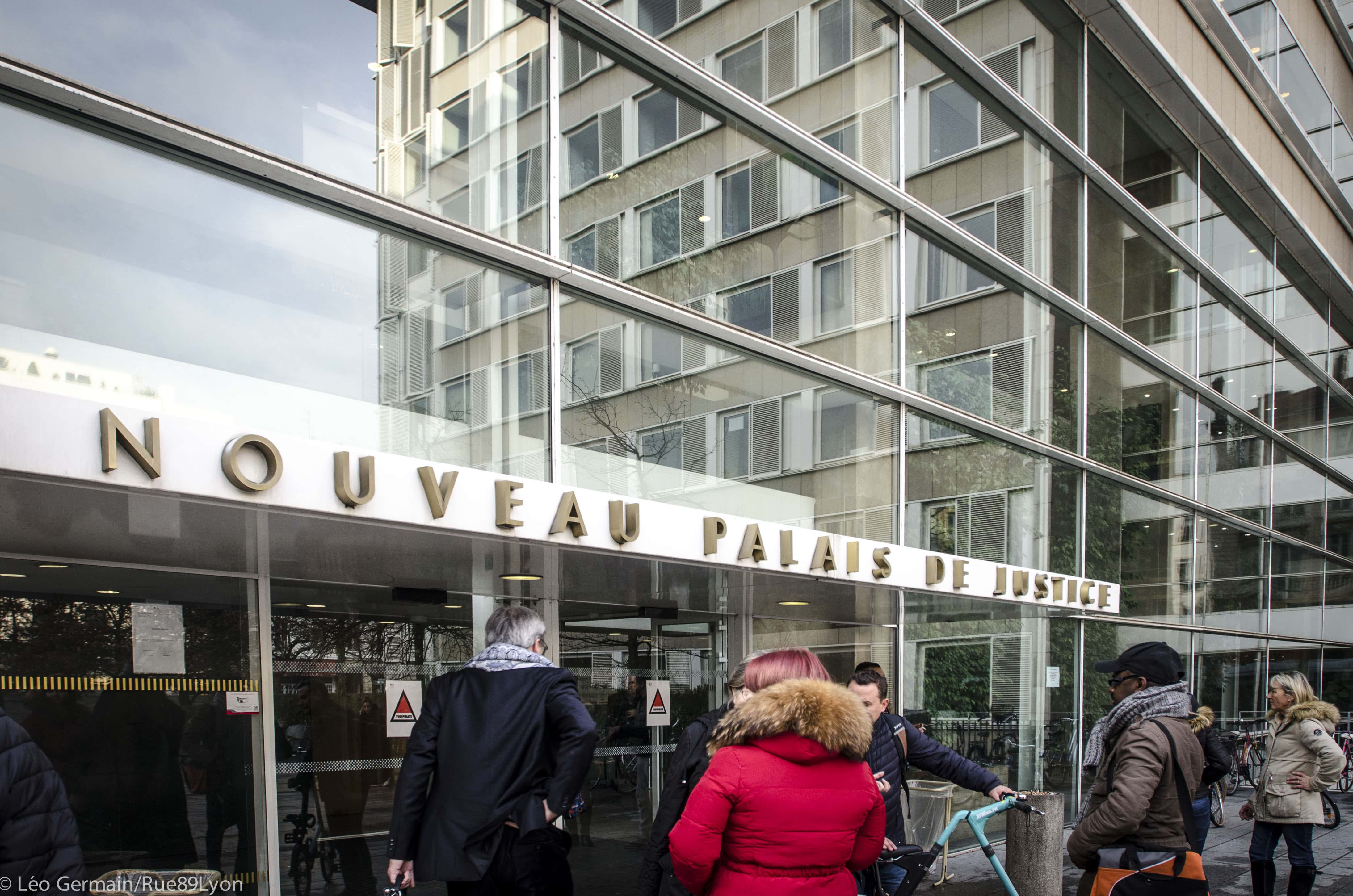 Nouveau palais de justice. Férvier 2017. Lyon ©Léo Germain/Rue89Lyon