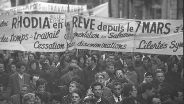 À Lyon, les grèves de 1967 de la Rhodiacéta ont préfiguré «Mai 68»