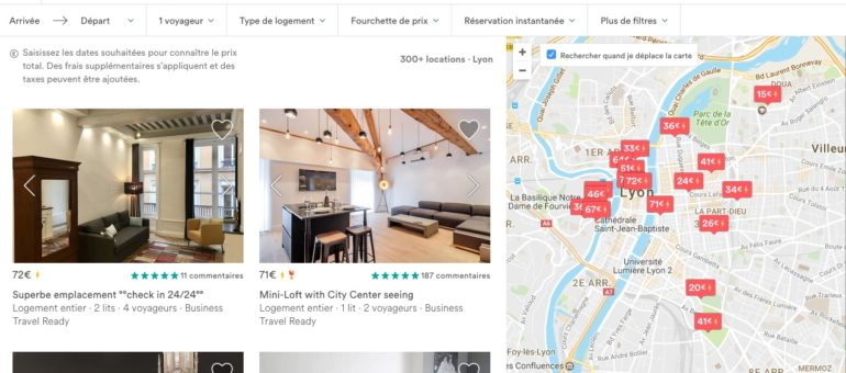 Louer via Airbnb sera bientôt encadré dans la Métropole de Lyon