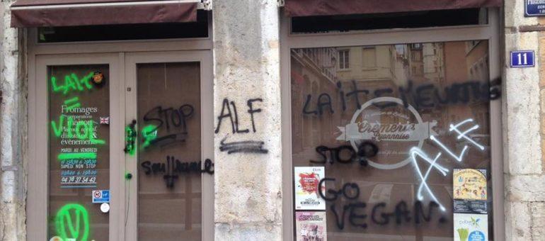 A Lyon apparaissent les vegans radicaux du «front de libération animale»