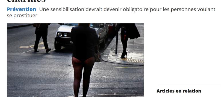 A Genève, il faudra bientôt suivre un cours pour se prostituer légalement