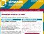 Capture d'écran du site de la BM sur le forum démocratie.